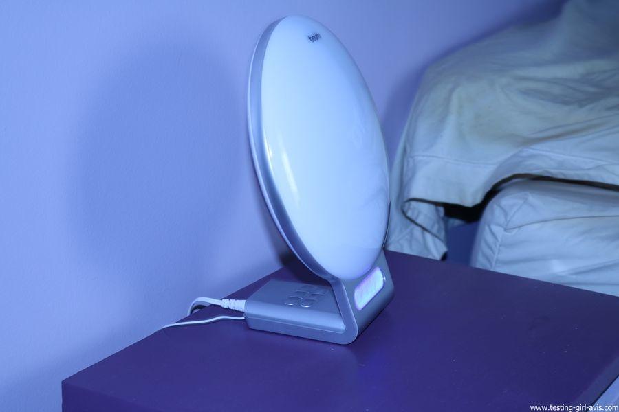 Beurer reveil lumineux WL75 simulateur aube connecte bluetooth avis test lampe de chevet