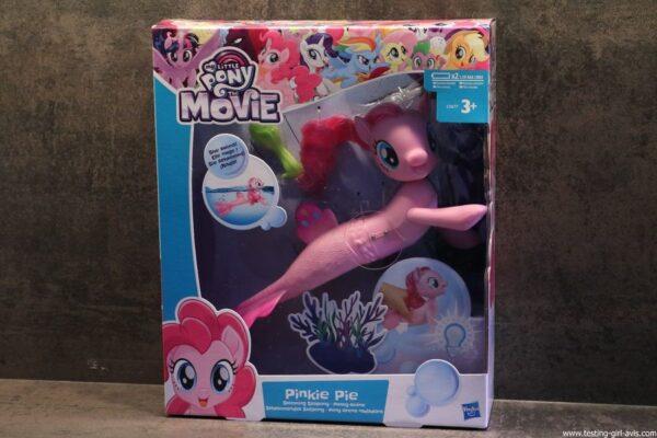 My Little Pony - C0677EU40 - Pinkie Pie Poney - Sirène Nageuse - 15 cm boite