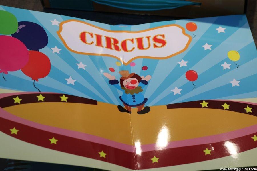 Joustra - Maxi Gommettes Animaux Repositionnables + Carnet pellicule cirque
