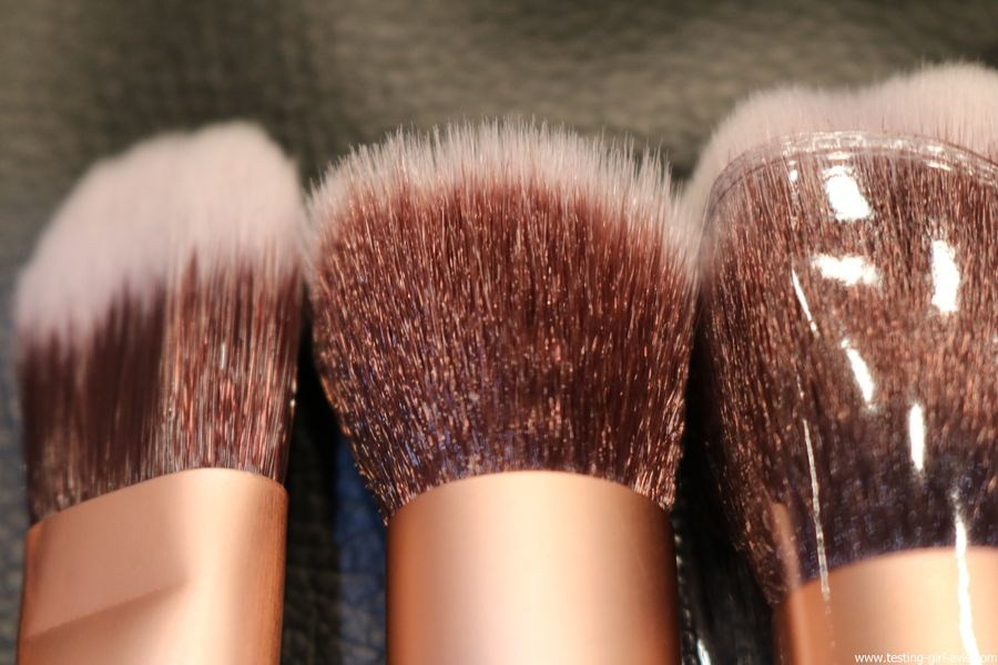 kit de pinceaux de maquillage pas cher, complet et de bonne qualité