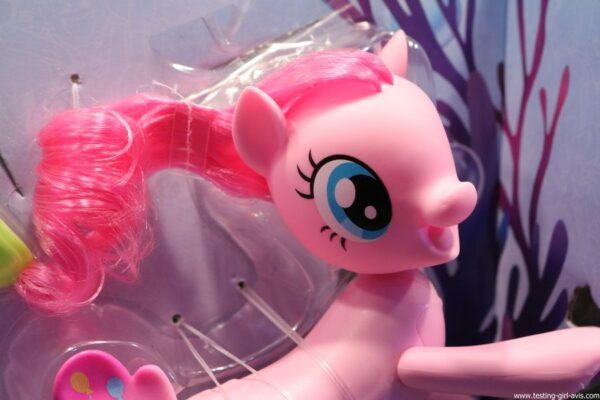 My Little Pony - C0677EU40 - Pinkie Pie Poney - Sirène Nageuse - 15 cm chevelure rose
