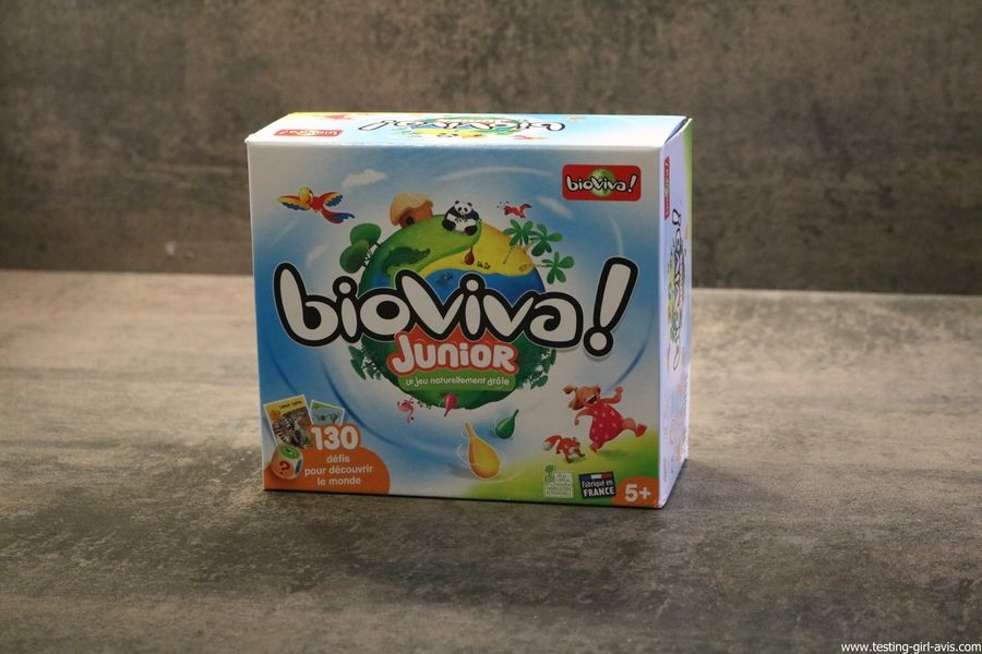Bioviva Junior le jeu naturellement drole