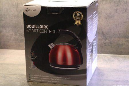 Naelia - Bouilloire thermostat réglable - WKT-EK103-NAE- Inox Gris 1,5 L description