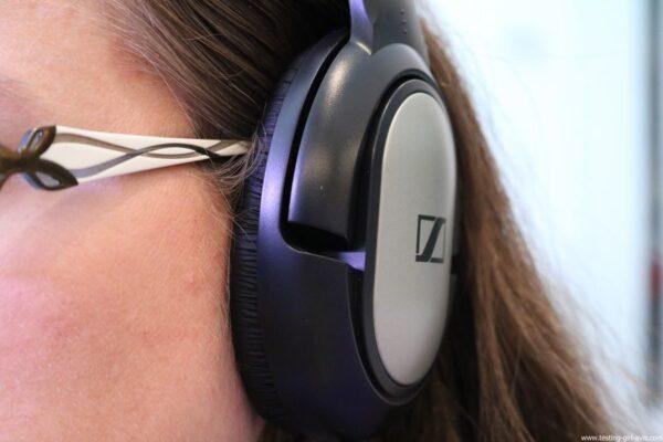 Sennheiser HD 206 Casque stéréo dynamique pour Smartphones/Tablettes/hi-fi/chaînes stéréo Argent test avis