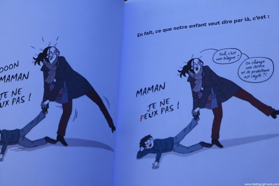 Petit decodeur illustre de l'enfant en crise Broche – 15 septembre 2017  illustration