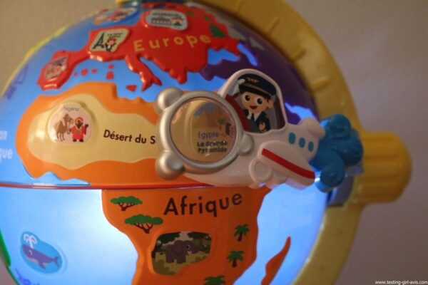 VTech - Lumi Globe Interactif - jeux educatifs - egypte