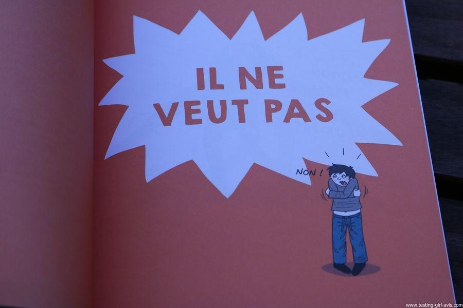 Petit decodeur illustre de l'enfant en crise Broche – 15 septembre 2017 il ne veut pas