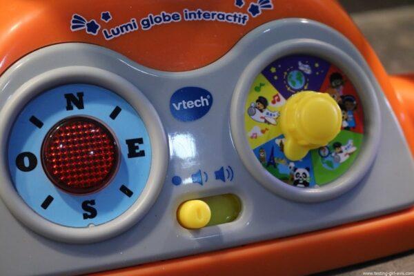 VTech - Lumi Globe Interactif - jeux educatifs - volume sonore - modes de jeux