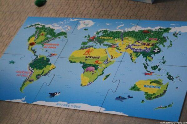 Bioviva Junior - plateau puzzle