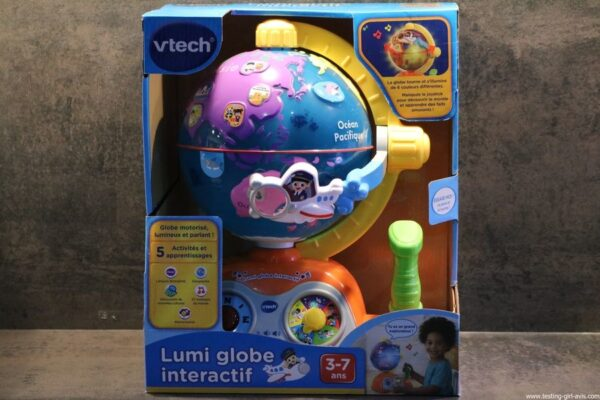 VTech - Lumi Globe Interactif