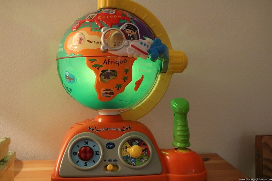 VTech - Lumi Globe Interactif - jeux educatifs