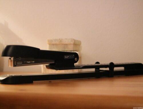 Rapesco Marlin Long Bras - Agrafeuse long bras pour brochures - 300 mm 25 feuilles - Métal