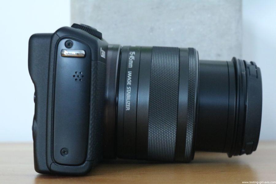 Canon EOS M100 Noir + EF-M 15-45mm Limited Edition Kit d'appareil Photo Numérique 24,2 Mpix Zoom optique 10x Bluetooth Noir - zoom