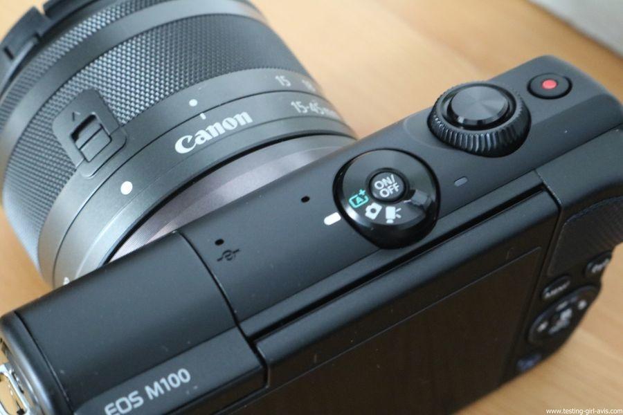Canon EOS M100 Noir + EF-M 15-45mm Limited Edition Kit d'appareil Photo Numérique 24,2 Mpix Zoom optique 10x Bluetooth Noir - mode automatique