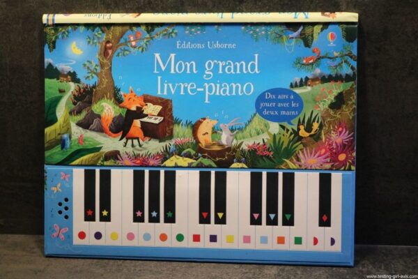Mon grand livre-piano Album – 26 octobre 2017 de Sam Taplin [Usborne] - description
