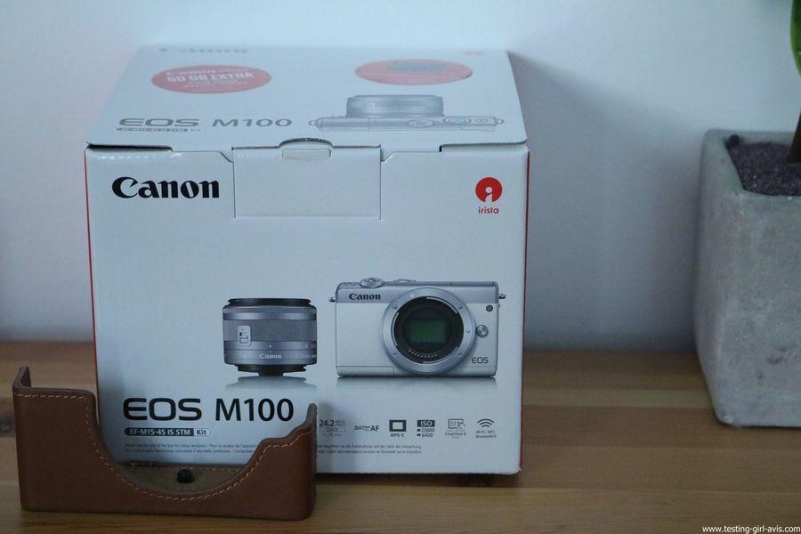 Canon EOS M100 Noir + EF-M 15-45mm Limited Edition Kit d'appareil Photo Numérique 24,2 Mpix Zoom optique 10x Bluetooth Noir - description