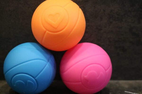Munchkin Jouet de Bain - Canard Panier de Basket - 3 balles bleu rose orange