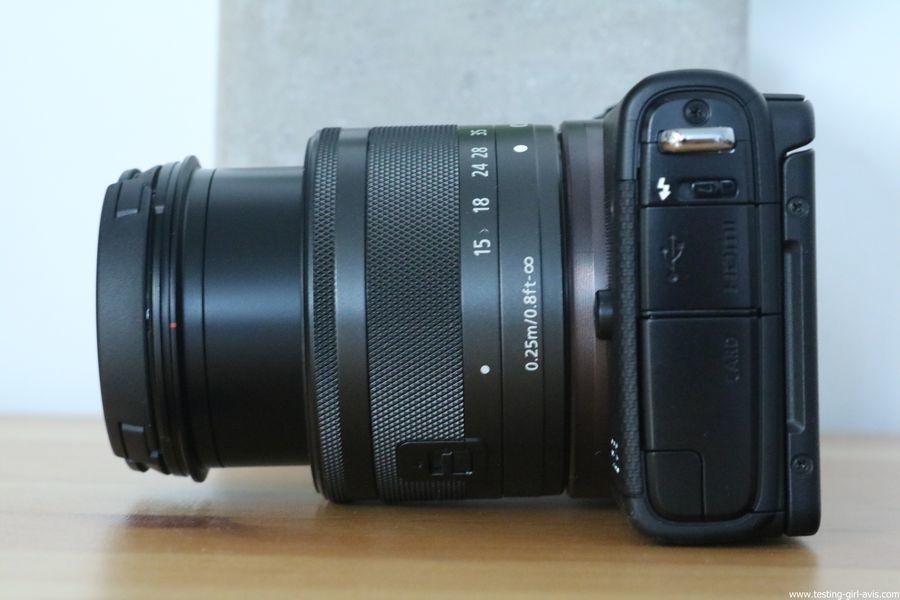 Canon EOS M100 Noir + EF-M 15-45mm Limited Edition Kit d'appareil Photo Numérique 24,2 Mpix Zoom optique 10x Bluetooth Noir - avis