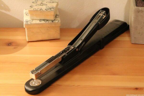 Rapesco Marlin Long Bras - Agrafeuse long bras pour brochures - 300 mm 25 feuilles - Métal - rechargement agrafes