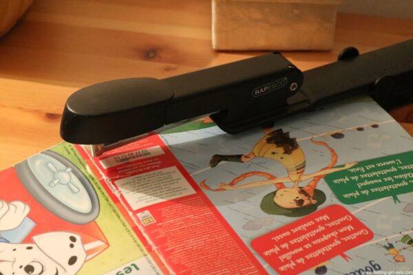 Rapesco Marlin Long Bras - Agrafeuse long bras pour brochures - 300 mm 25 feuilles - Métal - avis
