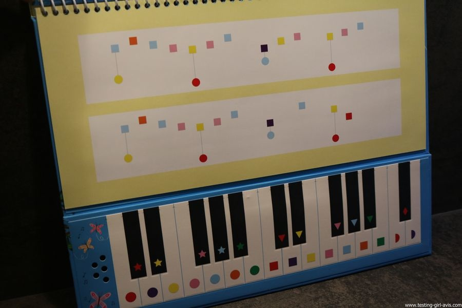 Mon grand livre-piano Album – 26 octobre 2017 de Sam Taplin [Usborne] - chansons
