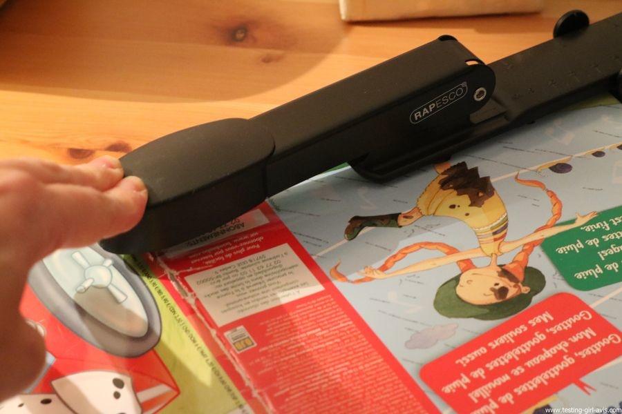 Rapesco Marlin Long Bras - Agrafeuse long bras pour brochures - 300 mm 25 feuilles - Métal - test