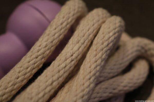 Kanaï Kids - KKGT01RPU - La Corde À Sauter - Violette - Green Toys - corde epaisse et souple