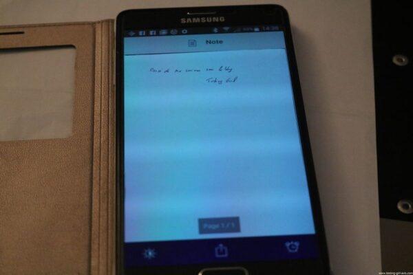 Oxford Classeur à levier A4 Dos 80 mm - Scribzee - test  smartphone