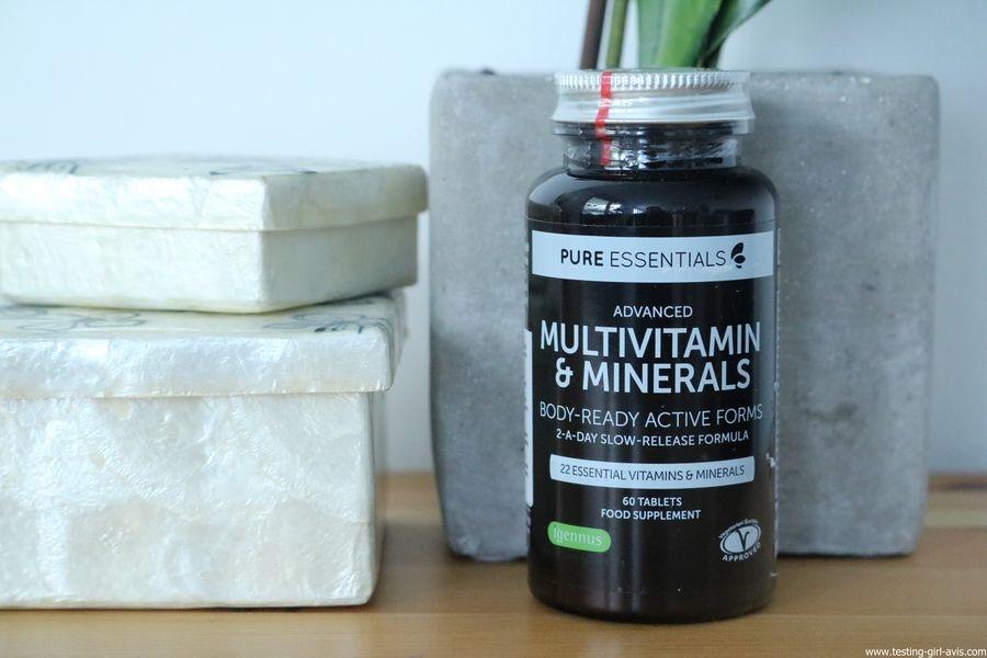 Pure Essentials Multivitamines et Minéraux avancés Pure Essentials avec Folate - 60 comprimés