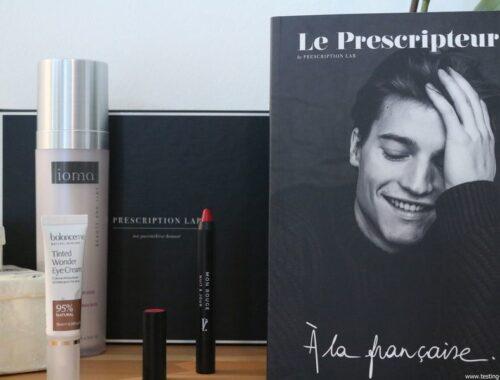 La box mensuelle Prescription Lab : ma parenthèse beauté - Février 2018 [Code Promo Inside]