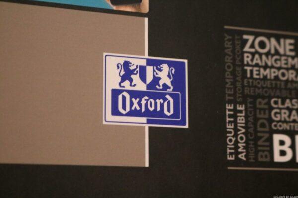 Oxford Classeur à levier A4 Dos 80 mm - Scribzee - marque Oxford