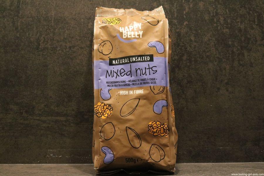 Happy Belly- Mélange de fruits à coque, 500g - Mixed Nuts