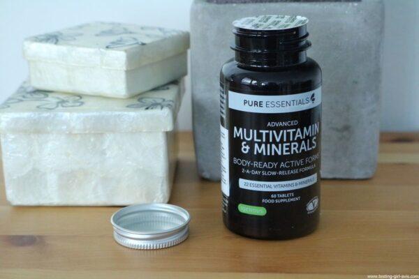 Pure Essentials Multivitamines et Minéraux avancés Pure Essentials avec Folate - 60 comprimés - avis