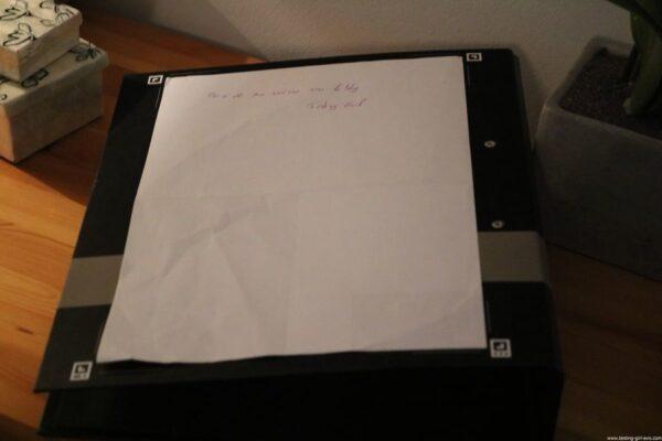 Oxford Classeur à levier A4 Dos 80 mm - Scribzee - test