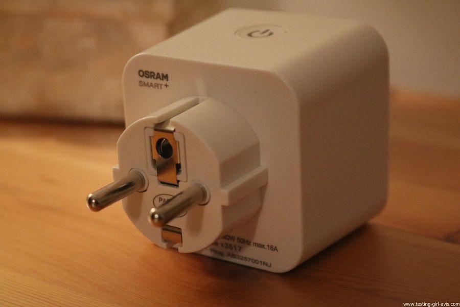 OSRAM SMART+ Prise Connectée Smart Plug - Reliez vos Lampes Conventionnelles ou Appareils Electriques à votre Installation Smart Home - Compatible Zigbee - avis