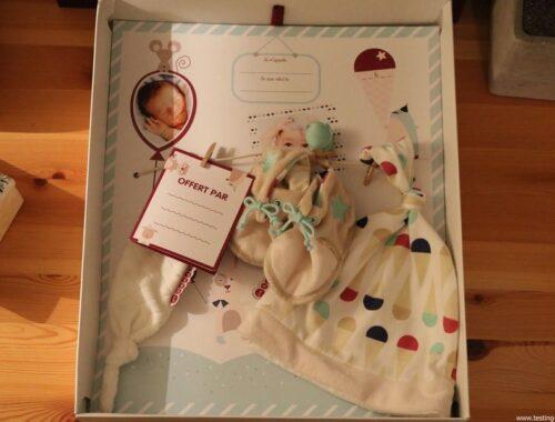 LITTLE BAND Mes Premiers Souvenirs Coffret Cadeau Naissance