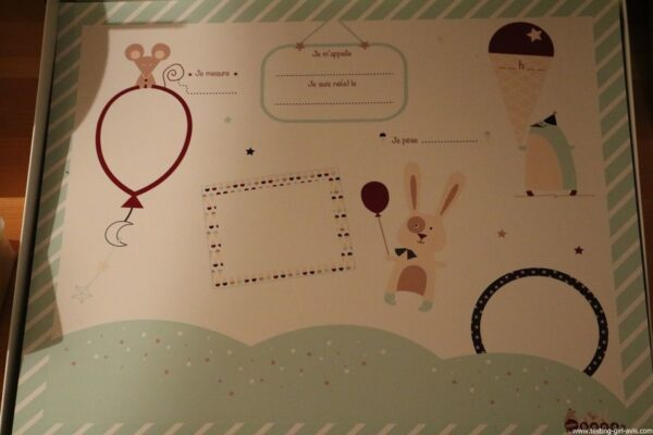 LITTLE BAND Mes Premiers Souvenirs Coffret Cadeau Naissance - certificat de naissance