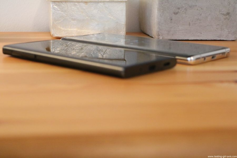 Sony Xperia XA2 Smartphone débloqué 4G (Ecran: 5,2 pouces - 32 Go - Double Nano SIM - Android) Noir - Vs Samsung Galaxy Note 8