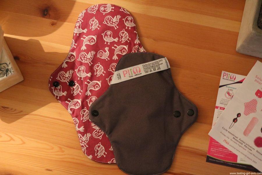 PLIM Medium et PLUS Jersey coton bio Pink Bird avis
