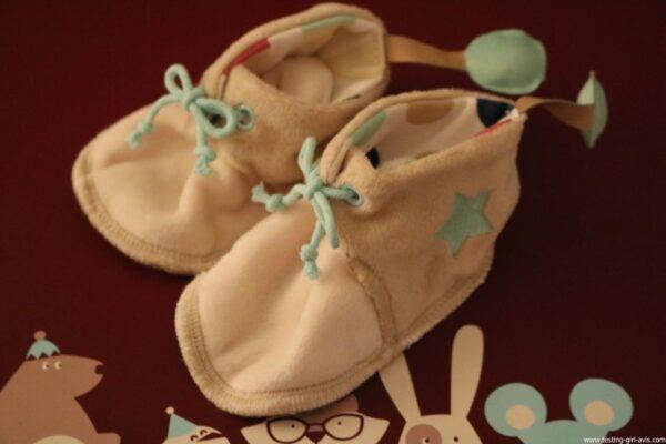 LITTLE BAND Mes Premiers Souvenirs Coffret Cadeau Naissance -  chaussons