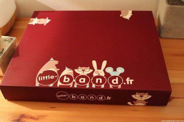 LITTLE BAND Mes Premiers Souvenirs Coffret Cadeau Naissance - description