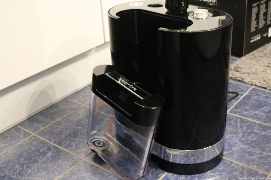 STEAMONE HD234GB Défroisseur à vapeur vertical Noir brillant 1,6 L 2300 W - reservoir eau