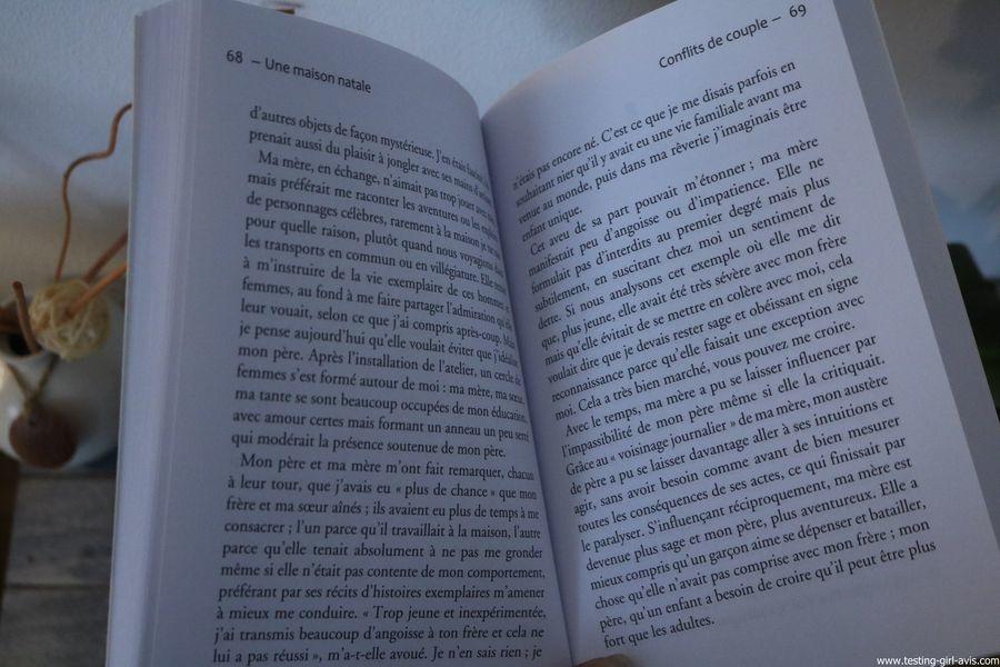 Une maison natale - Psychanalyse de l'intimité Broché – 6 avril 2016 de Alberto Eiguer - page 69