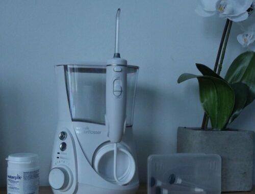 Waterpik Jet Dentaire Electrique Hydropulseur Blanchiment Dents Professional/WF-05EU