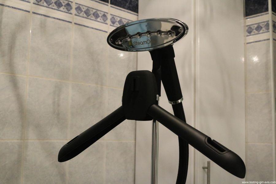 STEAMONE HD234GB Défroisseur à vapeur vertical Noir brillant 1,6 L 2300 W - cintre