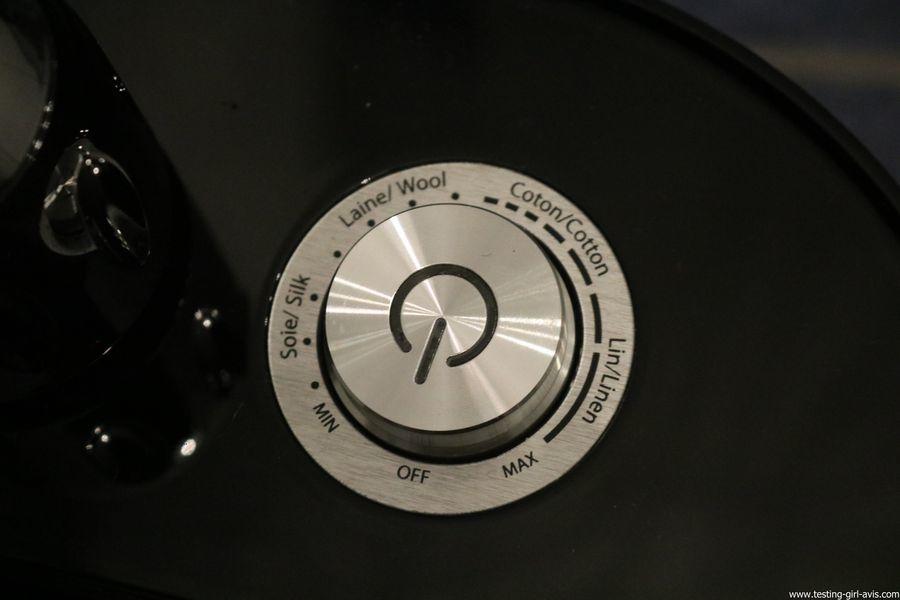 STEAMONE HD234GB Défroisseur à vapeur vertical Noir brillant 1,6 L 2300 W - variateur puissance