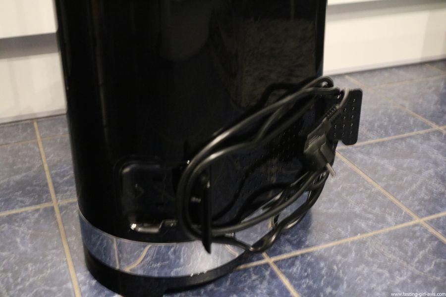 STEAMONE HD234GB Défroisseur à vapeur vertical Noir brillant 1,6 L 2300 W - range cable