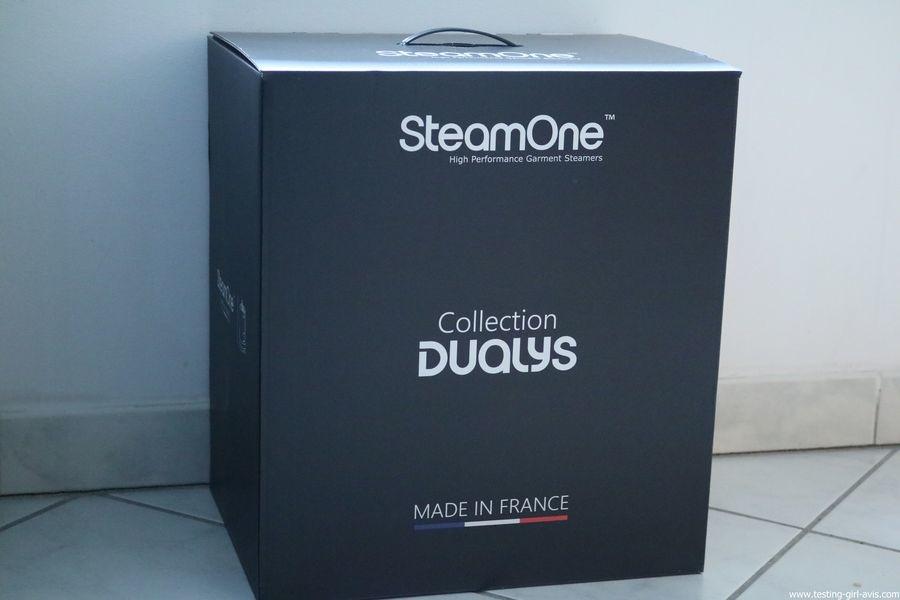 STEAMONE HD234GB Défroisseur à vapeur vertical Noir brillant 1,6 L 2300 W - descriptif