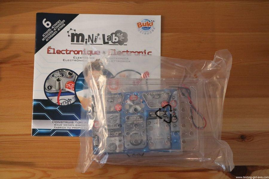 Buki - Jeu Scientifique Mini Lab Electronique - Construis ton alarme - Notice couleur