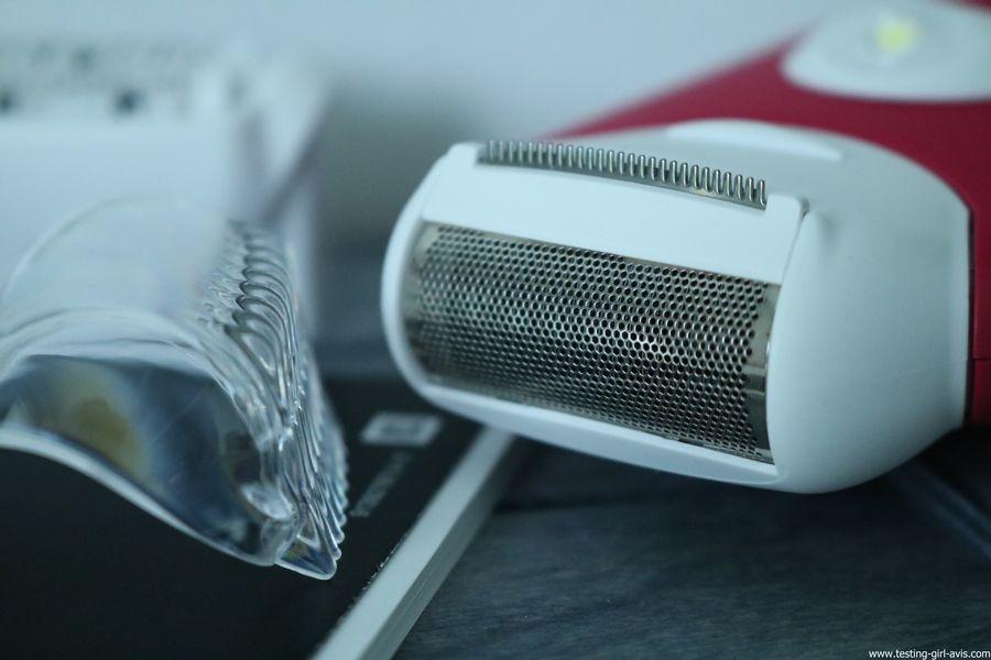 Braun - Silk-Epil 3 3-410 - Epilateur Electrique - 3 Accessoires - Rose Framboise - rasoir